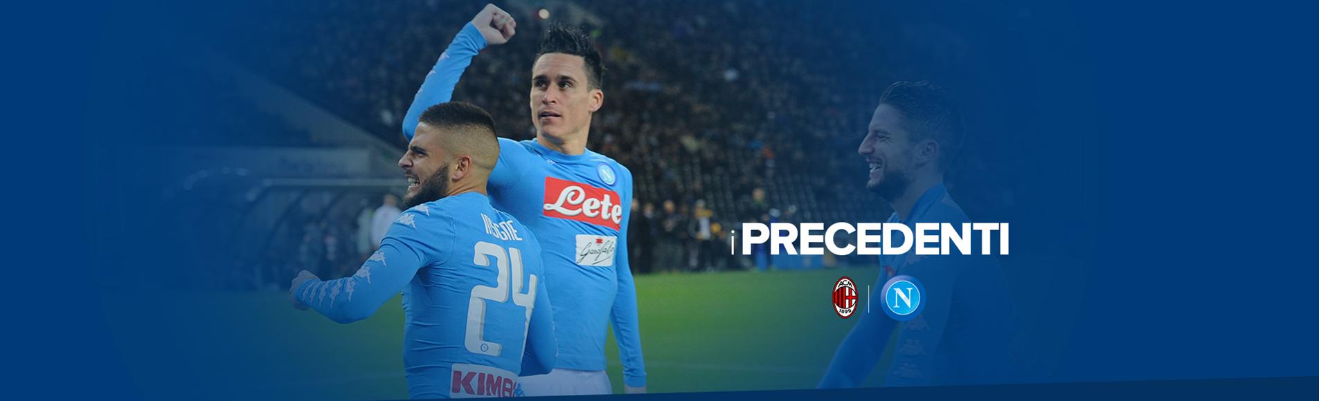Milan Napoli i precedenti