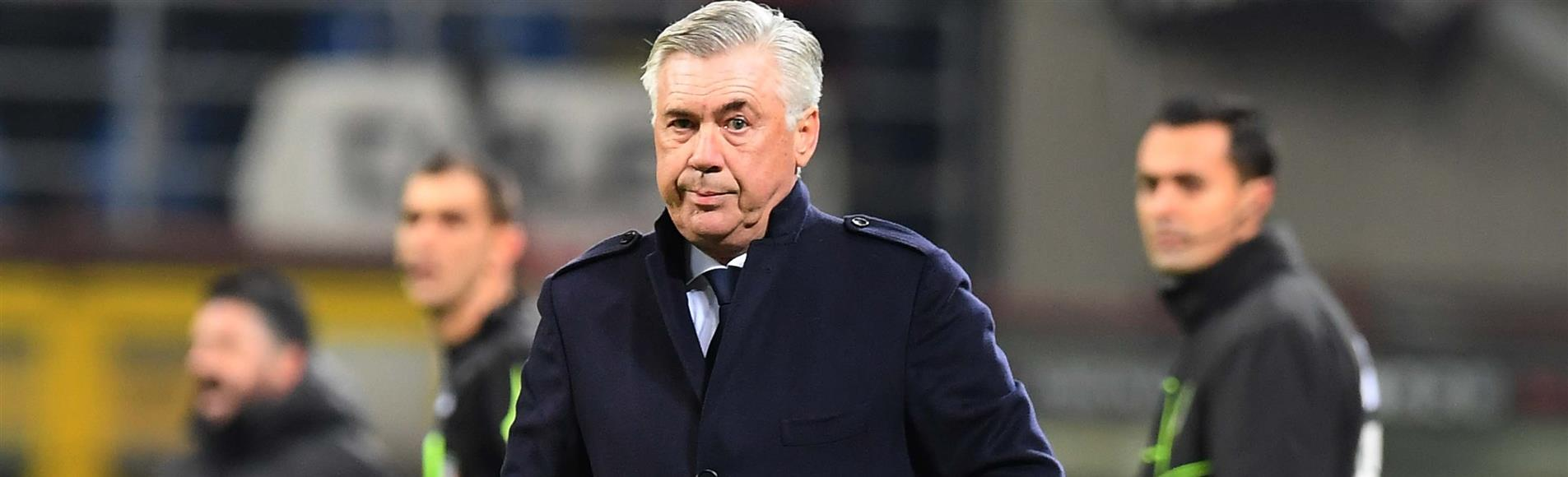 """Ancelotti: """"Abbiamo giocato una buona prima ora, ma non siamo riusciti a concretizzare"""""""